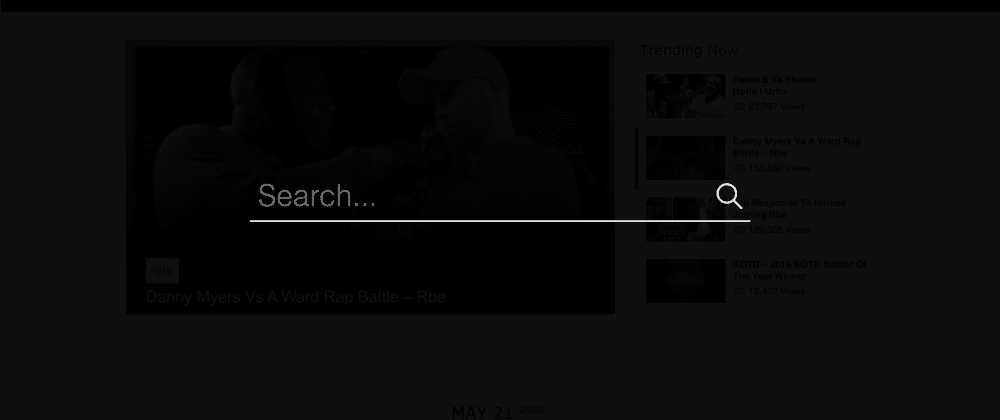 Cover image for Customizing Search Bar with VanillaJS