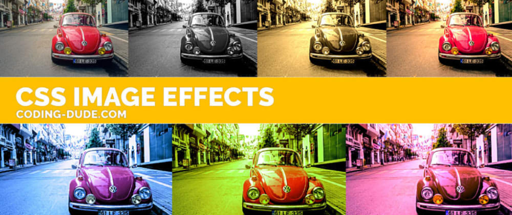 Cover image for 7 CSS Image Effects For Making Awesome Vintage Photos