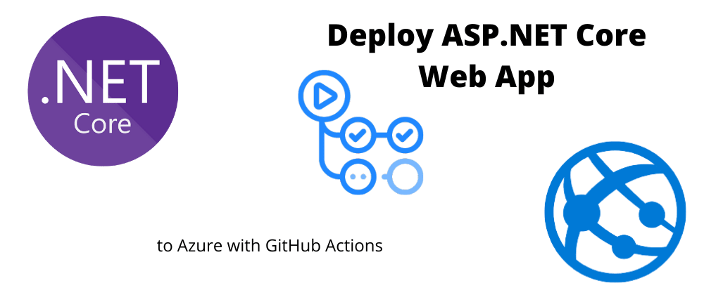 Cover image for Deploy ASP.NET Core Web App to Azure with GitHub Actions