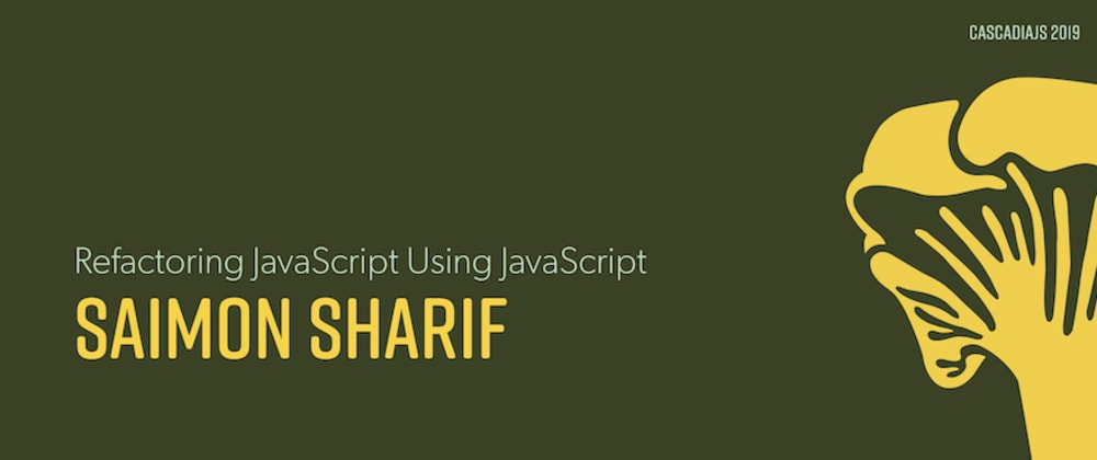 Cover image for Refactoring JavaScript using JavaScript