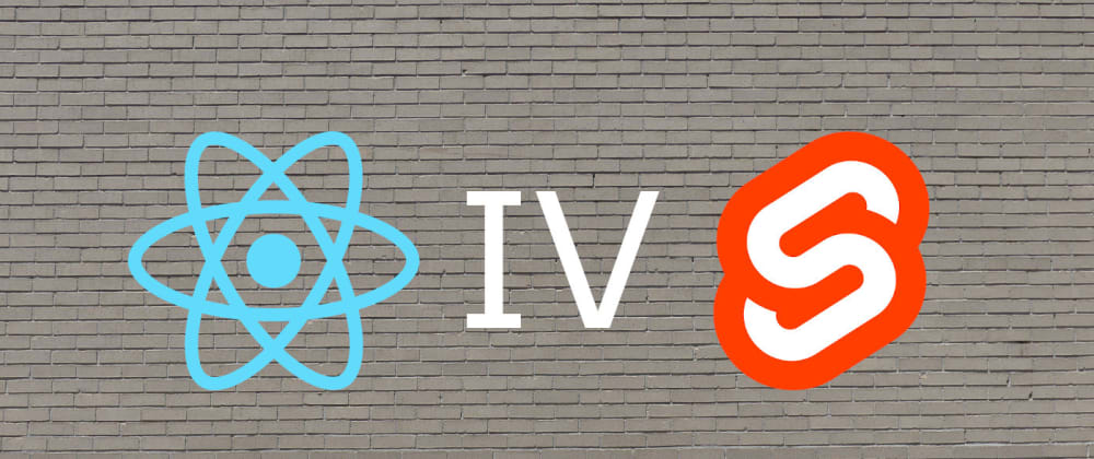 Cover image for Svelte from a React developer's perspective. Part 4: Logic