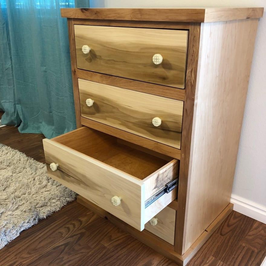 Poplar and Alder Dresser