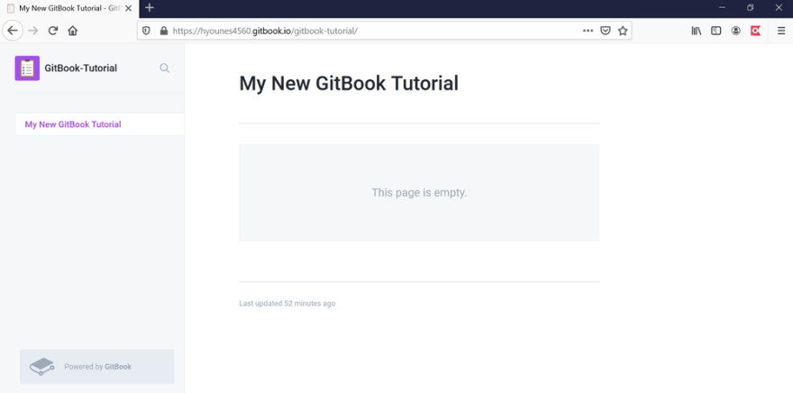 gitbook new page preview
