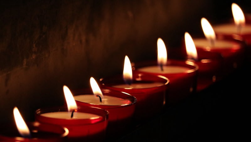 Tea Lights image from [Pixabay](https://pixabay.com/en/tea-lights-candles-light-prayer-2223898/)