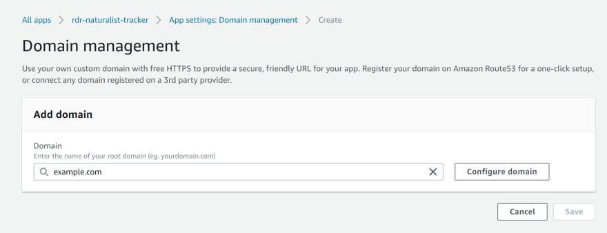Custom Domain Setup Part 1