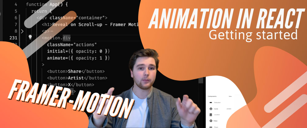 Cover image for Page Transitions in React Router with Framer Motion