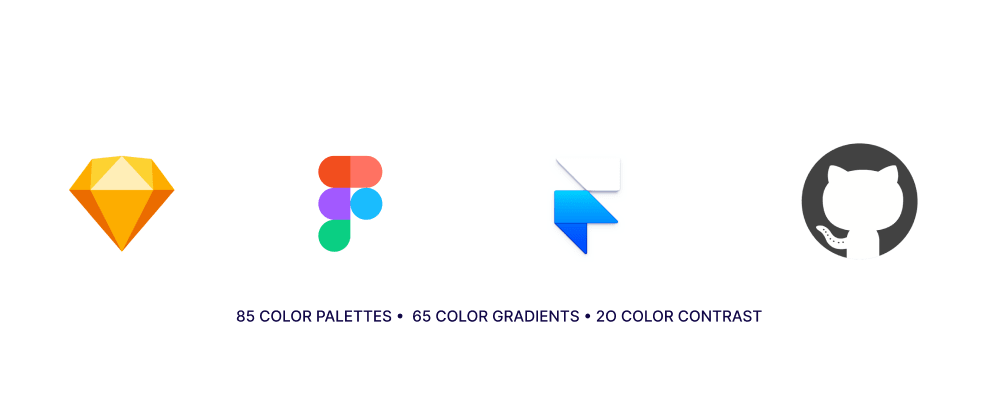 Cover image for Updated:- I have put together a Figma, Sketch, Framer & GitHub file with colour palettes, colour gradients and colour contrast.