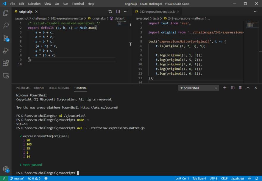 VSCode screen capture