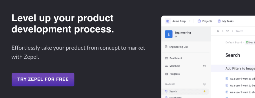 Improve your product development process with Zepel