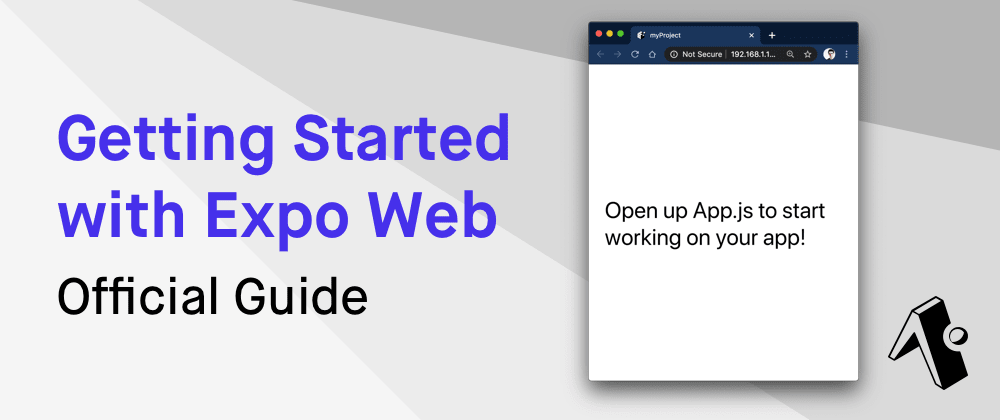Cover image for Getting Started with Expo Web