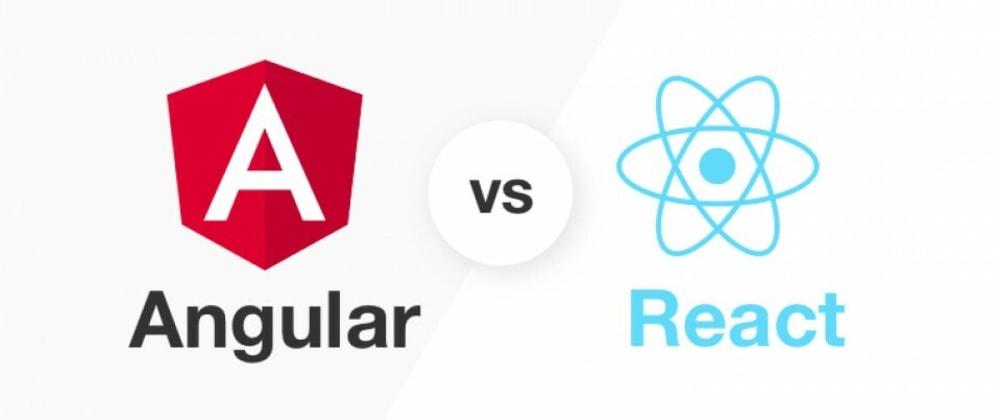 Cover image for React vs Angular