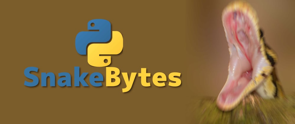 Cover image for Python SnakeBytes: Unpacking