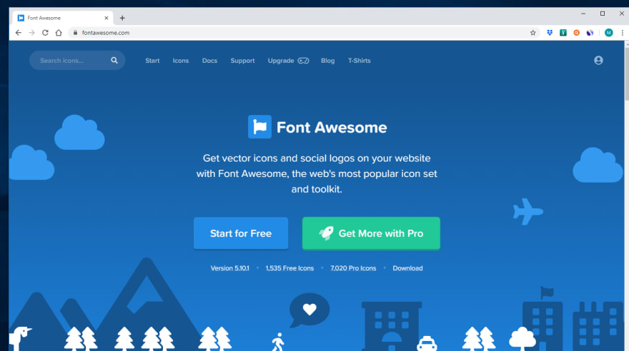 Font Awesome Website