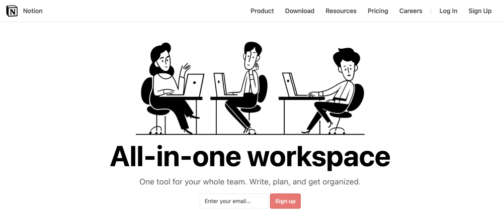 Cover image for Recreating Notion's Homepage with Tailwind CSS and Vue JS