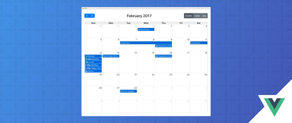 Cover image for Vue3 FullCalendar