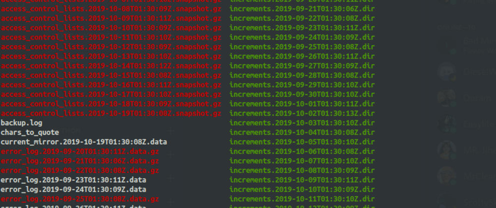 Cover image for Backups with rdiff-backup and mysqldump