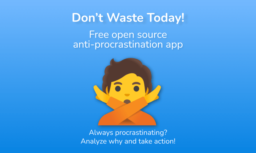 Don't Waste Today logo