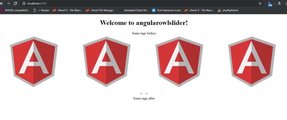 Cover image for angular 8 owl slider