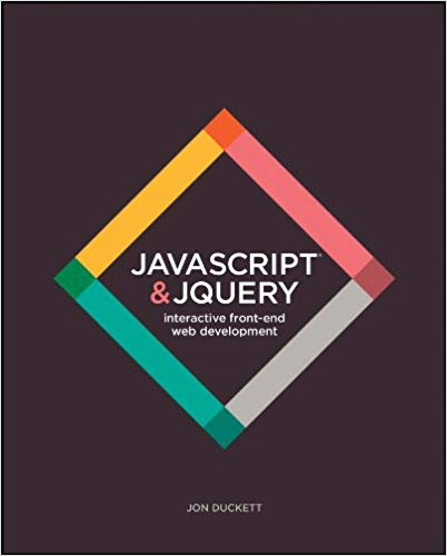 JavaScript and jQuery: Interactive Front-End Web Development book cover