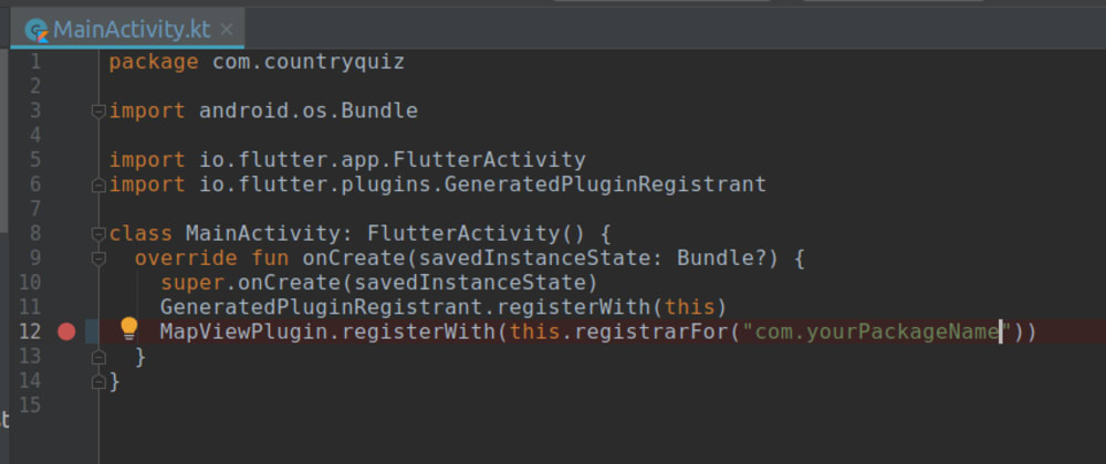 Cover image for How to Add Native Code to a Flutter App using Platform Views on Android