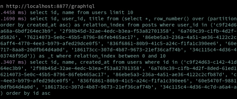 Cover image for I've created knex-graphql-utils, which optimizes your GraphQL server with PostgreSQL