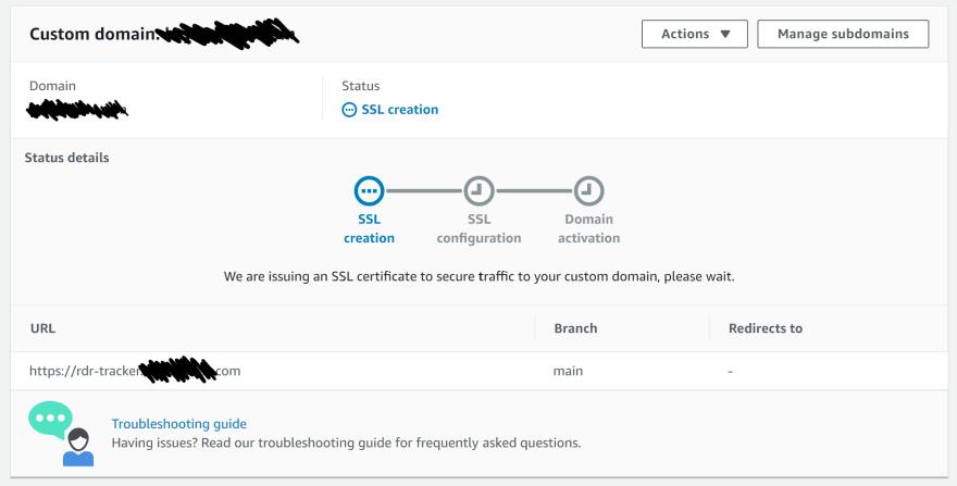 Custom Domain Setup Part 3
