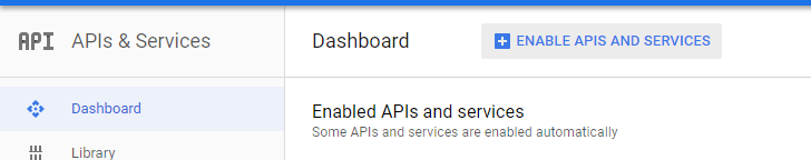 Enable APIs and Services on Google Cloud