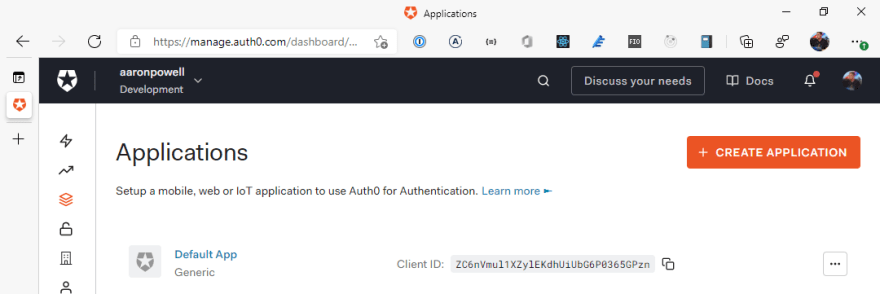 Using Auth0 With Static Web Apps