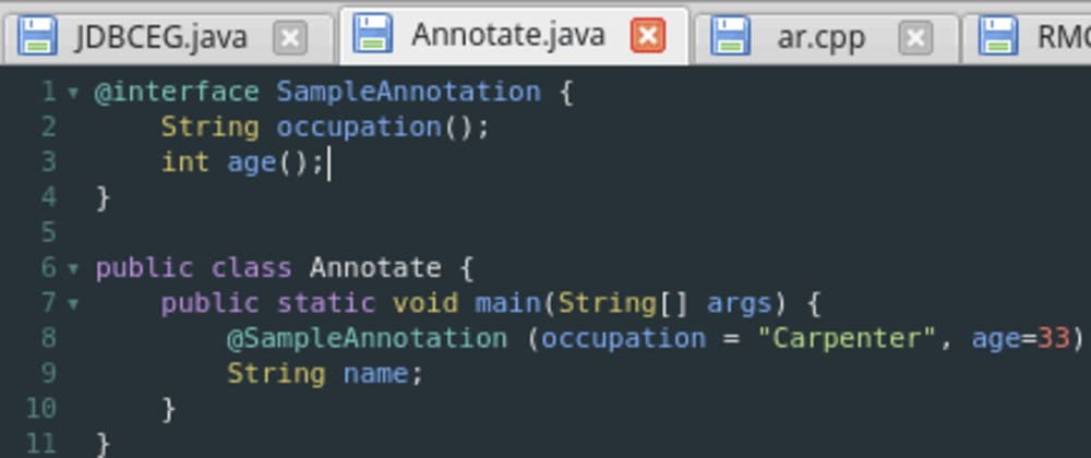 Cover image for 6. Annotations in Java
