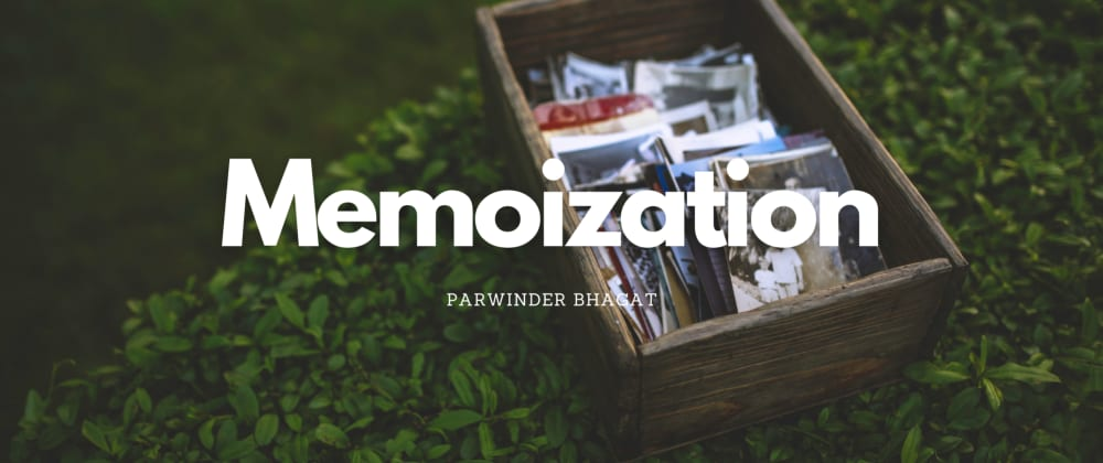 Cover image for Memoization in JavaScript