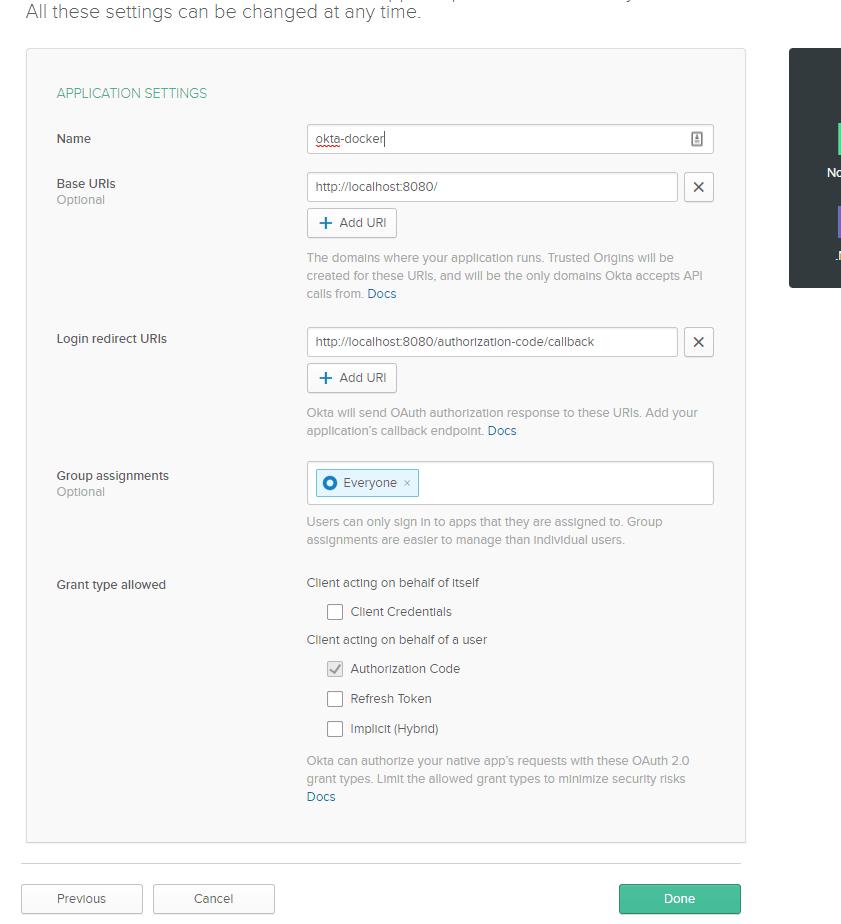 New web application, Step 2
