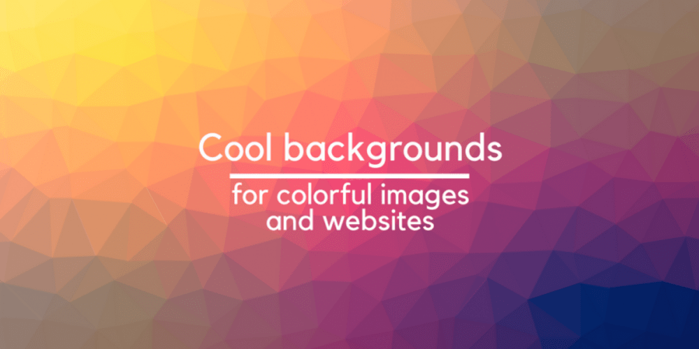 cool backgrounds to create colorful images and websites dev