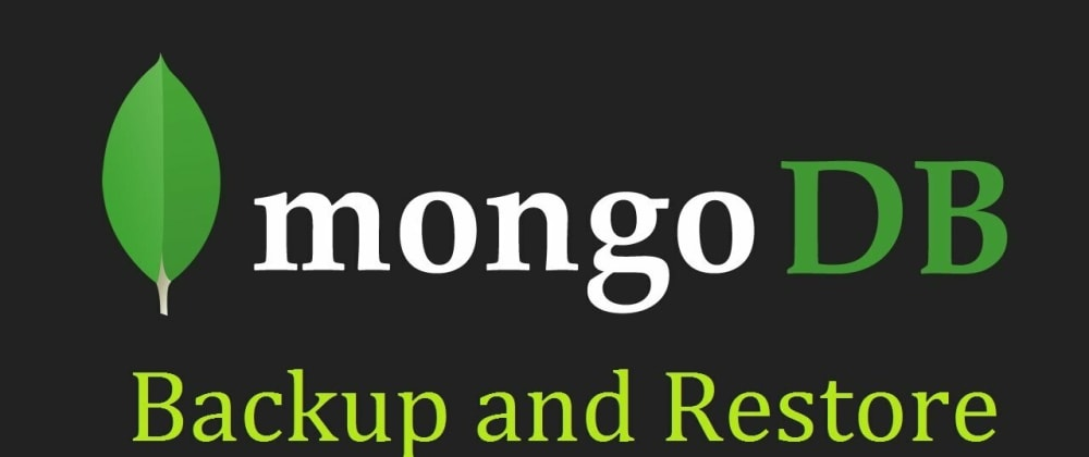 Cover image for Database Backup Scripts For MongoDB with AmazonS3