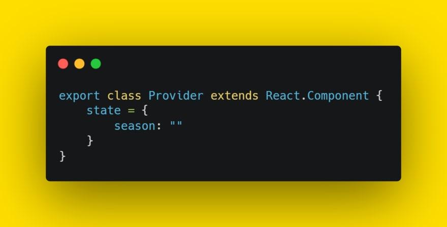 Provider component
