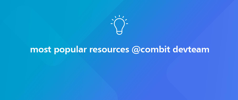 Cover image for Our Most Popular Resources for Developers