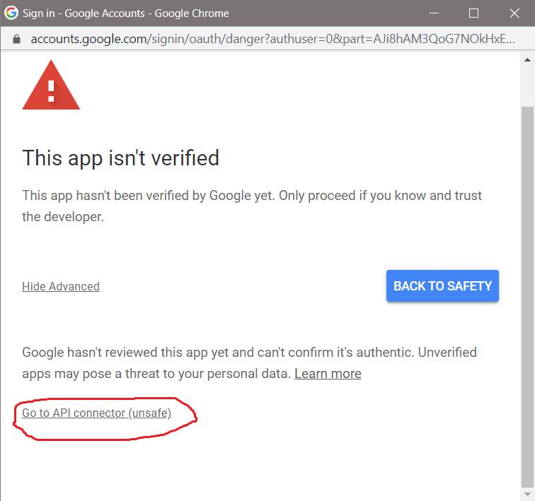 Confirm Access