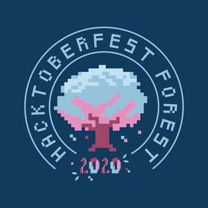 Hacktoberfest Forest 2020 logo