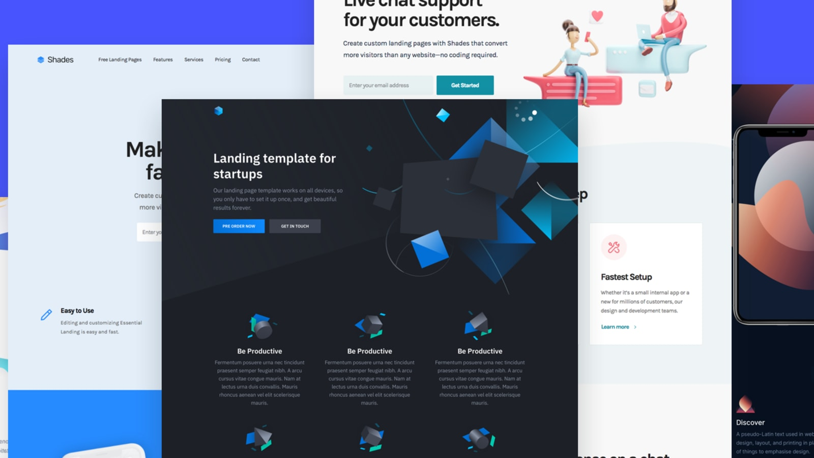 landing page templates free download in html