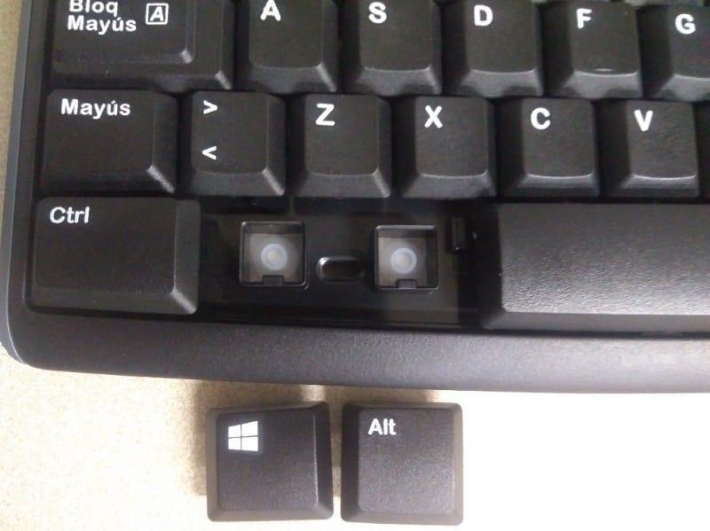 Alt PC Keyboard distribution