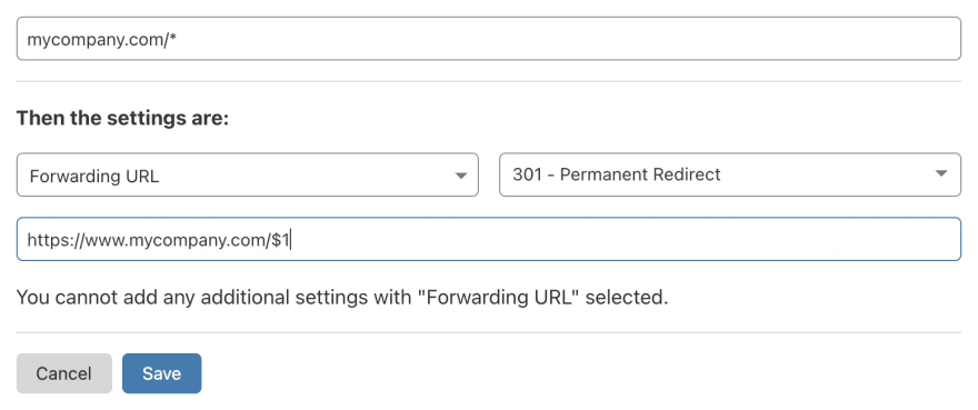 Redirect non-www to www