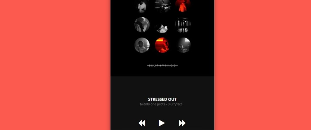 Cover image for How To Make A Music Player Using HTML and CSS