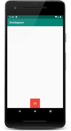 First run of the video recording app