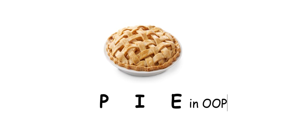 Cover image for The PIE concept of OOP.