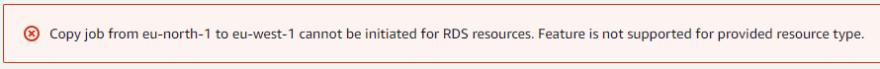 RDS copy error