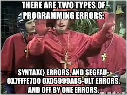 No one expects off by one errors!