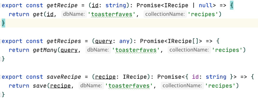 async db functions
