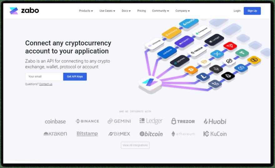 Zabo website