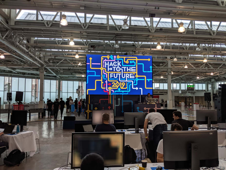 Image of the hackathon