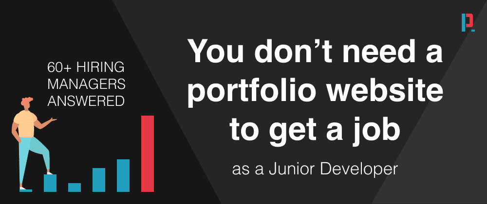 Cover Image for This survey among 60+ hiring managers reveals: Don't waste your time on a (React) portfolio website