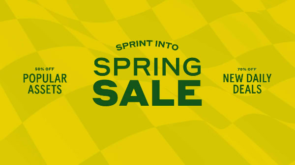 Sprint into Spring Sale